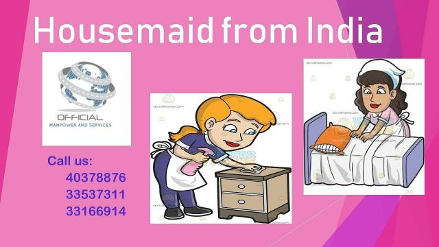 Housemaid from India