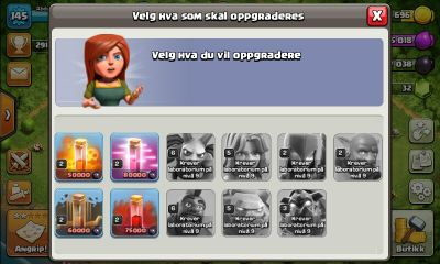 CLASH OF CLANS TH10 MAX