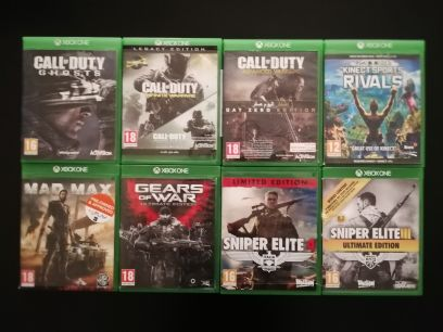 Xbox one games from 75 to 175 qr