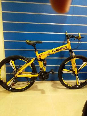 hummer foldable bike's for adults