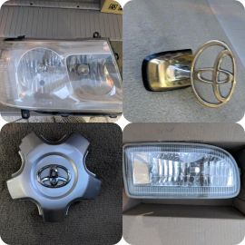 Spare Parts for Toyota VXR 2006
