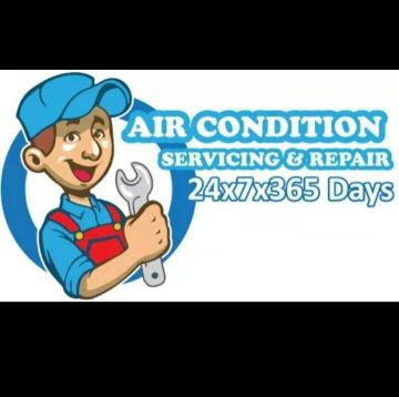 Air condition works and electric work
