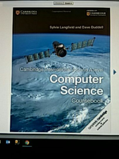 Computer Science: IGCSE, AS & A Level