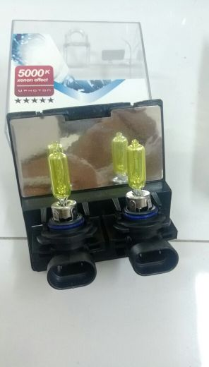 HB3 car lights , Yellow color