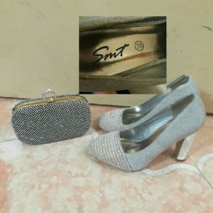 Women shoes and porse