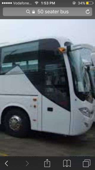 45+ seater  bus required