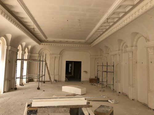 Gypsum work design