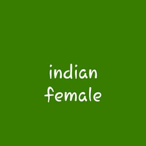 Indian female looking for a job