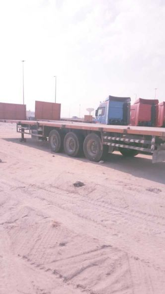 flatbed trailers 2006