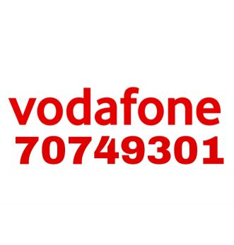 NEW VODAFONE NUMBER 70749301