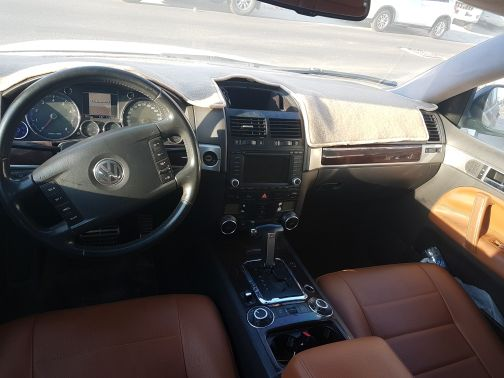 V8 touareg in full option and great cond