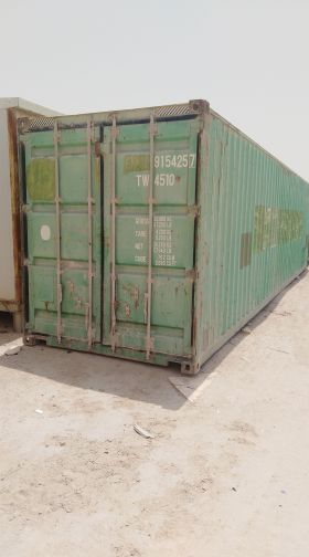 required container 40ft