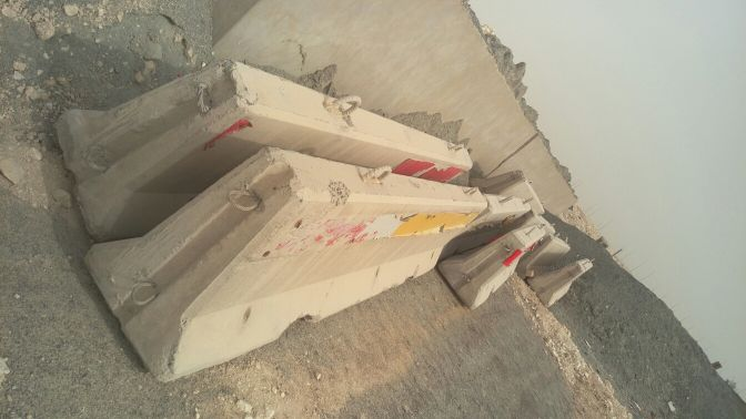 3.8m concrete barriers for sale