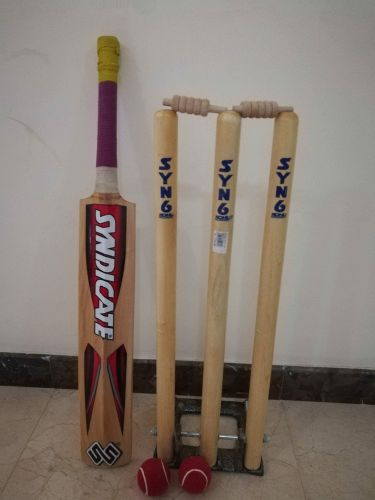 Cricket bat &stump