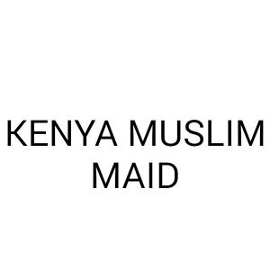 AVAILABLE IN OFFICE MUSLIM KENYAN MAID