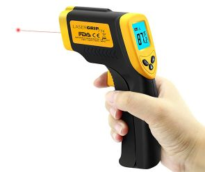 Lazer thermometer
