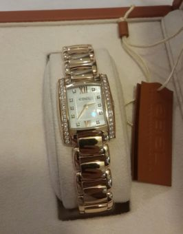 Ebel watch 18 ct gold with Dimaond MOP