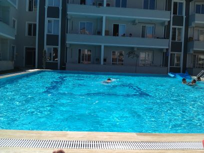 SEA 50 MT POOL La SITE, SALE FLAT