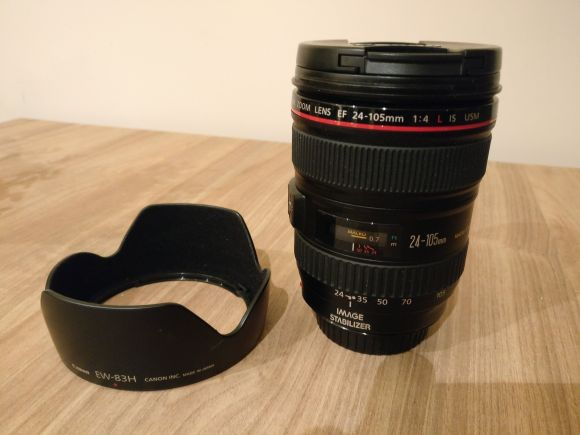 Canon EF 24-105 F4 L IS USM Lens
