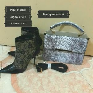 Peppermint Boots and bag