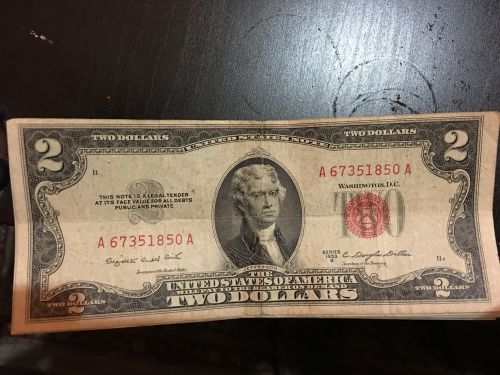 Very old 2 dollar