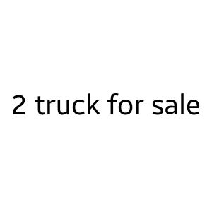 2009 and 2012 model foton truck for sale