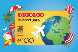 Oredoo Passport Pack and Internet card