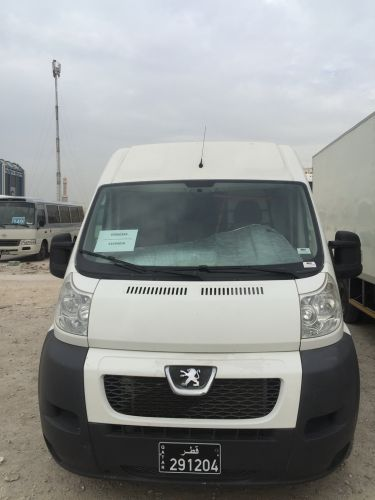 Panel van for rent