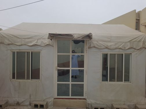 tent used with 2 ton ac