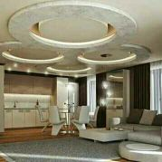Gypsum board interior design & partition