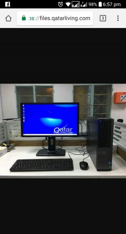 DELL i5-4G RAM-500GB HDD-512MB GRAPHIC C