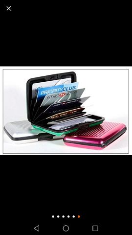 card holder  4 model normal 25 Qr automa