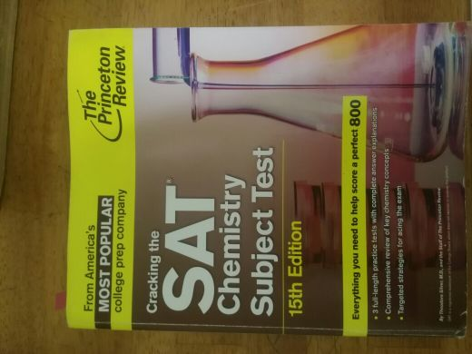 sat chemistry guide Princeton review