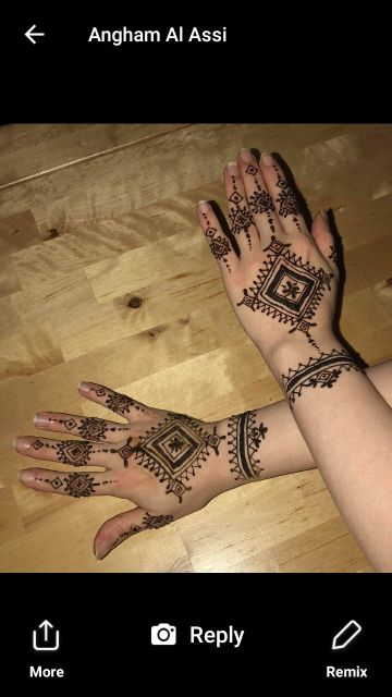 RAMADAN KAREEM !time for henna ..