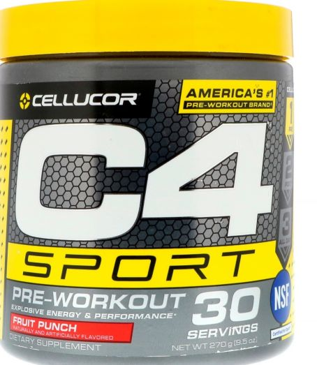 c4 pre workout be active