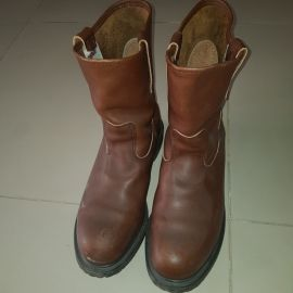 Steel Toe Boot...Red Wings. Size 11