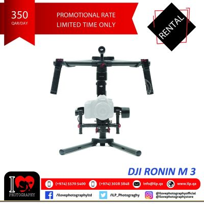 DJI Ronin M3 available for rental!
