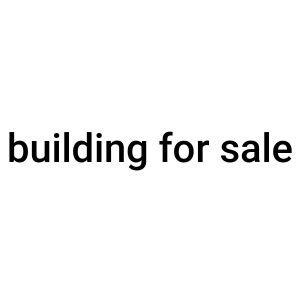 full building for sale
