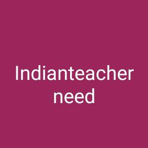 Indian Female teacher required in Al wak