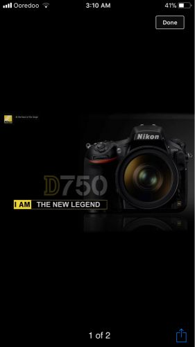 Search for D750