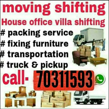 Furniture Moving & Shifting