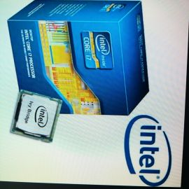 I7 3770 with Intel mobo and ram 8gb