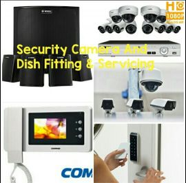 Security Camera & Dish. Fitting&Service