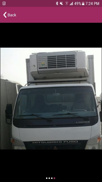 for rent Mitsubishi pic up freezer