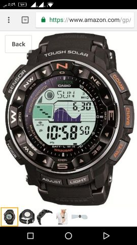 new Casio protrek