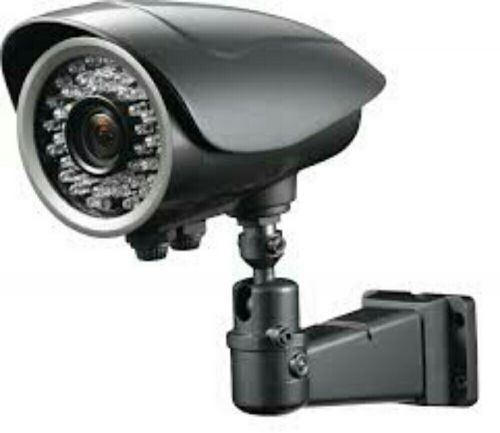 Security Camera And Dish