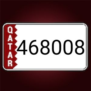 for sale number plate 468008