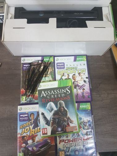 Kinect (x360) and games