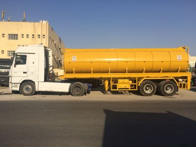 Sewage Tanker with Head