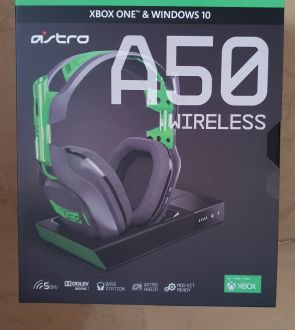 Astro a50 wireless gen 3gaming headset